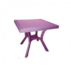 Table Royale en plastique - VIOLET- TAJPLAST