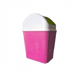 Corbeille En Plastique 3L – Multi-usage - ROSE -TAJPLAST