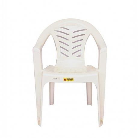Chaise De Cerémonie - Plastique – Blanc