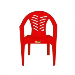 Chaise palmier -Ceremonie - Rouge -TAJPLAST