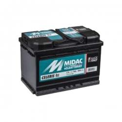 Batterie originale C74 - MIDAC - 74A - NOIR - ATS