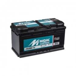 Batterie originale CL100 MIDAC - 100A - NOIR - ATS