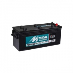 Batterie originale 135AS MIDAC - 510 x 189 x 223 mm - 135A - NOIR - ATS