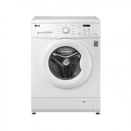 LG Machine à Laver F10C3QDP2 - 7 Kg - Blanc - 9 Programmes- Fonction essorage - 12 mois de garantie