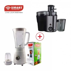 PACK MAMAN FORMIDABLE SMART TECHNOLOGY - CENTRIFUGEUSE - 1.5L - STPE - 426A + BLENDER - STPE - 1110