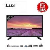iLUX TV LED Ultra Slim HD - 32 Pouces - Décodeur Intégré - 3XHDMI - 1XUSB - Port VGA