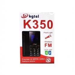 Téléphone portable KGTEL K350 - Dual Sim - 2.4 Pouces - Radio FM - Vibreur