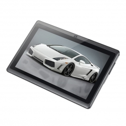7 Inch Android 4.4 Tablet PC Q88 A33 1024*600 WiFi Quadri-Black