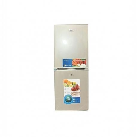 iLUX Réfrigérateur Combiné 3 Tiroirs ILCB260 - Economique - 300 Litres - Gris - 6 Mois Garantie