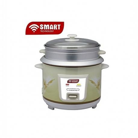 SMART TECHNOLOGY Cuiseur De Riz - STPE-1718R - 1.8L - Gris + 3 Mois De Garantie