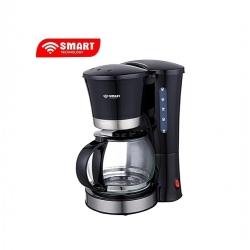 SMART TECHNOLOGY Machine à Café - 1.2L - STPE-1212C - Noir