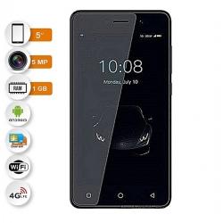 Tecno F1 - 3G - 2 Sim - 5 Pouces - 8 GB Rom - 1 GB Ram - Couleur Noir
