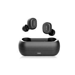 QCY T1C Écouteurs sans fil HiFi Stéréo Double Micro Casque avec boitier De charge portatif