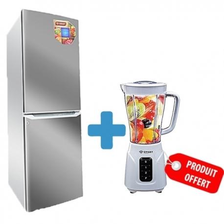 Refrigérateur combiné smart technology + Blender offert- STCB-304G + STPE-1000