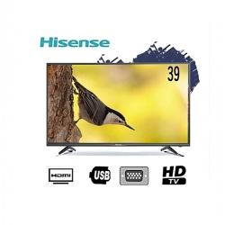 "Hisense TV LED 39"" - Full HD - HDMI - USB - VGA - Noir + 12 mois de garantie"