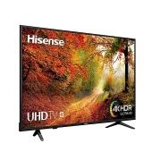 Hisense Téléviseur 55 pouces Ultra HD (4K) avec wifi - 55A6100XW