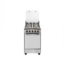 ILUX Cuisinière 4 Feux LX-40SS – Brûleur À Gaz – Inox – Garantie 6 Mois