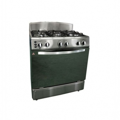 Ilux Cuisinière Electrique 5 Feux LX-76SS - Inox
