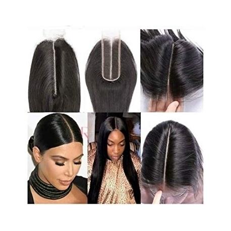CLOSURE KIM KARDASHIAN- longueur 12 - Type bresilienne - human hair longueur 12