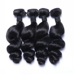 Meche Cheveux Humain ONDULE longueur 16 - Type bresilienne - LOOSE WAVE brazilian human hair longueur 16
