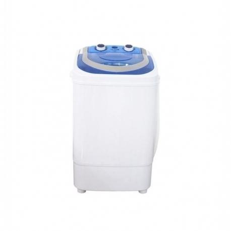 Ilux Machine à Laver LX-MW-580 - 5.8Kg - Fonction Essorage - Blanc - Garantie 6 Mois
