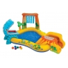 Aire de jeux gonflable Jurassic - 249 X 191 X 109cm Multicolore
