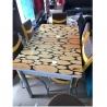 Ensemble table à manger + 6 chaises