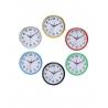 Horloge Murale Ronde à Quartz Design Rétro - Noir