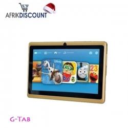 G-Tab Tablette Enfant - Q77 - 7'' - 2 Mpx - 8 Go - Jeux - MULTICOLORE- MOMO
