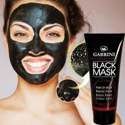 Lot De 2 Masque Au Carbon Gabrini - Noir