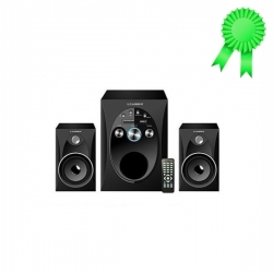 Leadder Home Cinéma - Haut-parleur Multimédia Bluetooth Woofer SP-227 /MP3 /USB/Card - Noir