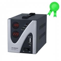 Leader Stabilisateur Automatique De Tension Numérique - VR-S2000 - 2000VA - Gris/Noir