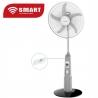 """SMART TECHNOLOGY Ventilateurs 18"""" Rechargeable Avec Télécommande-STV-1880RB - Blanc - Garantie 1 Mois"""