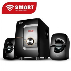 SMART TECHNOLOGY Système Audio Avec Haut-parleur Multimédia FM Radio /USB/SD Card/MP3 - STHB-8897M - Noir