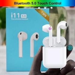 TWS Ecouteur Bluetooth- Qualité D'Origine - Blanc i11