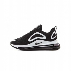 Femme/Homme Nike Air Max 720 Noir/Blanc