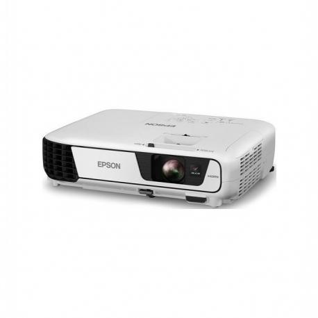 Epson Vidéoprojecteur Epson EB-S05 - 3LCD - SVGA 800x600 - 3200 Lumens - 10000 H - Haut-parleur Intégré - Blanc