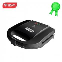 SMART TECHNOLOGY Sandwich Maker (Grill Sandwich) - STPEC-6888C - Noir - 3 Mois Garantie