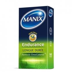 PRESERVATIF MANIX ENDURANCE - BOITE DE 14