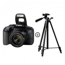 Canon Appareil Photo Canon EOS 800D - Noir + trépied
