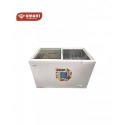 Smart technology Congélateur Horizontal Vitré - STCCV-988 - 455 Litres - Blanc