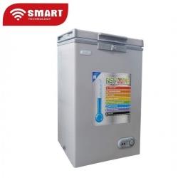 SMART TECHNOLOGY Congélateur Coffre STCC-200 - 131 L - Gris - 12 Mois Garantie