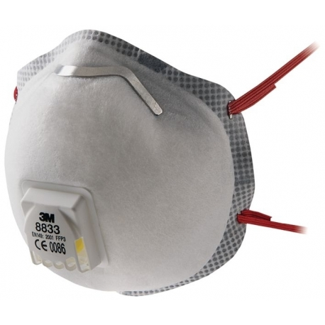 masque anti poussiere fluo