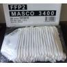MASQUE DE PROTECTION MASCO 3400 TYPE FFP2 MASCO (Lot de 20)