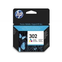HP 302 cartouche d'encre trois couleurs authentique