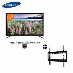 Samsung TV LED - 40 Pouces - Full HD - Noir + SUPPORT MURAL - Garantie 12 Mois