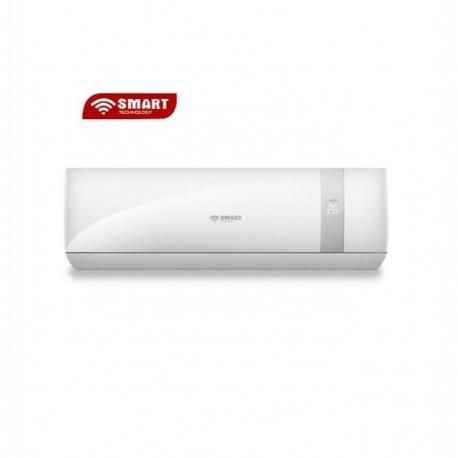 SMART TECHNOLOGY Split Inverter Anti Corrosion Et Purificateur 1 CV - STS-9/SMARTY R410 - Blanc - 12 Mois Garantie
