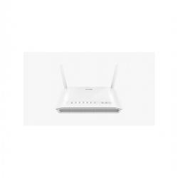 D-Link Modem Routeur Wifi- DSL-2750U N300 ADSL2 + 4 Ports - 2 Antennes - Blanc