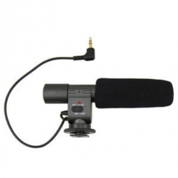 MIC-01- Stereo Microphone- Pour Camera Et Photo Reflex