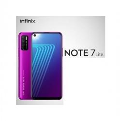 """Infinix Note 7 LITE (X656) - 6.55"""" HD- 4G - 48Mpx/8Mpx- 64GB/4GB"""